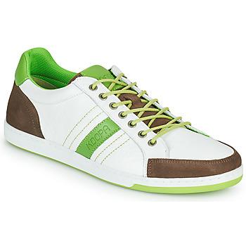 Boty Muži Nízké tenisky Kdopa MARIANO Bílá / Zelená