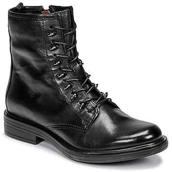 Boty Ženy Kotníkové boty Mjus CAFE Černá