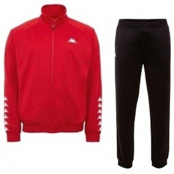 Textil Muži Teplákové soupravy Kappa Till Training Suit červená