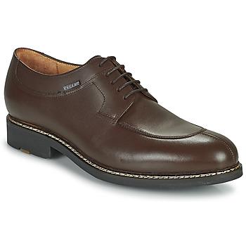 Boty Muži Šněrovací polobotky  & Šněrovací společenská obuv Pellet Magellan Hnědá