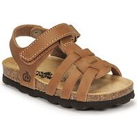 Boty Chlapecké Sandály Citrouille et Compagnie JANISOL Hnědá