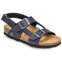Boty Chlapecké Sandály Citrouille et Compagnie KELATU Tmavě modrá