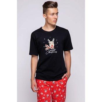 Textil Muži Trička s krátkým rukávem Sensis Pánské pyžamo Rudolfo
