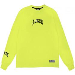 Textil Muži Trička s dlouhými rukávy Jacker Corpo Zelená
