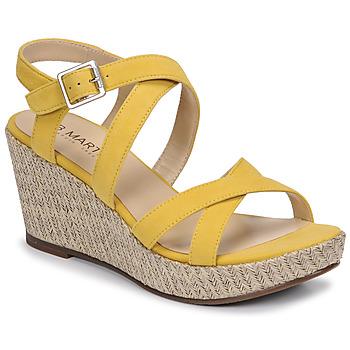 Boty Ženy Sandály JB Martin DARELO Žlutá