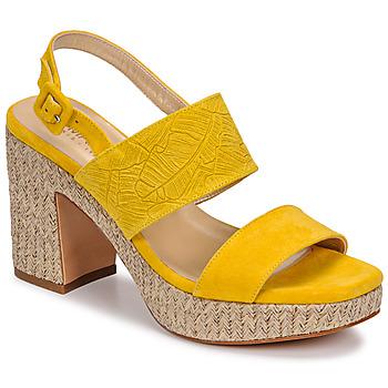Boty Ženy Sandály JB Martin XIAO Žlutá