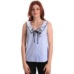Textil Ženy Halenky / Blůzy Fornarina SE174576CA1218 Modrý