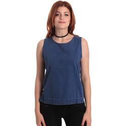 Textil Ženy Halenky / Blůzy Fornarina SE175J70D883SK Modrý