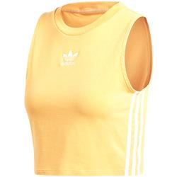 Textil Ženy Tílka / Trička bez rukávů  adidas Originals DH3169 Žlutá
