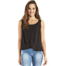 Textil Ženy Halenky / Blůzy Gaudi 911BD45001 Černá