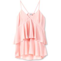 Textil Ženy Halenky / Blůzy Liu Jo F19006T5540 Růžový