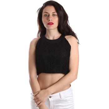 Textil Ženy Halenky / Blůzy Fracomina FR19SP689 Černá