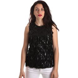 Textil Ženy Halenky / Blůzy Fracomina FR19SP533 Černá