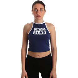 Textil Ženy Halenky / Blůzy Converse 10017592-A03 Modrý