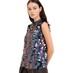 Textil Ženy Halenky / Blůzy Fracomina FR19FP508 Černá