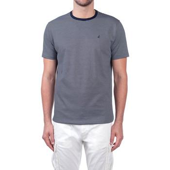 Textil Muži Trička s krátkým rukávem Navigare NV70031 Modrý