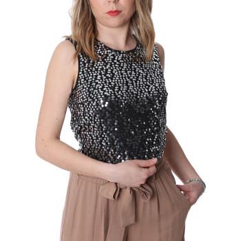 Textil Ženy Halenky / Blůzy Fracomina FR20SP634 Černá