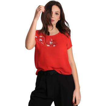 Textil Ženy Halenky / Blůzy Gaudi 811BD45011 Červené