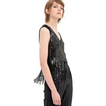 Textil Ženy Halenky / Blůzy Fracomina FR20SP503 Černá