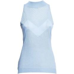 Textil Ženy Halenky / Blůzy Fracomina FR20SM812 Modrý