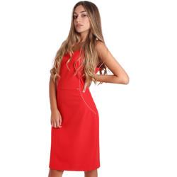 Textil Ženy Krátké šaty Fracomina FR20SP645 Červené