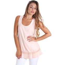 Textil Ženy Halenky / Blůzy Fracomina FR20SM014 Růžový