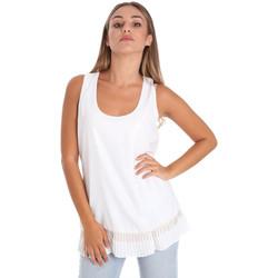 Textil Ženy Halenky / Blůzy Fracomina FR20SM014 Bílý