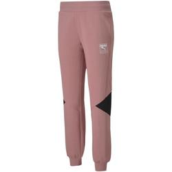 Textil Ženy Teplákové kalhoty Puma 583565 Růžový