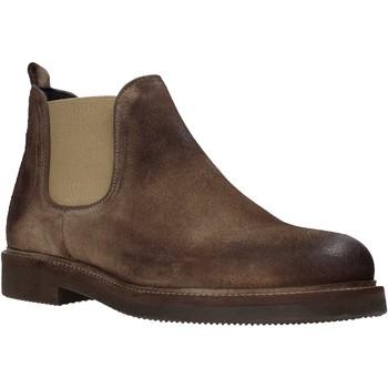 Boty Muži Kotníkové boty Exton 850 Hnědý