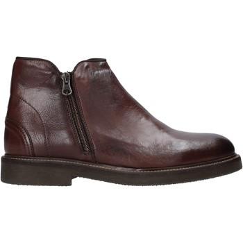 Boty Muži Kotníkové boty Exton 851 Hnědý