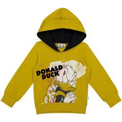 Textil Děti Mikiny Melby 40D0022DN Žlutá