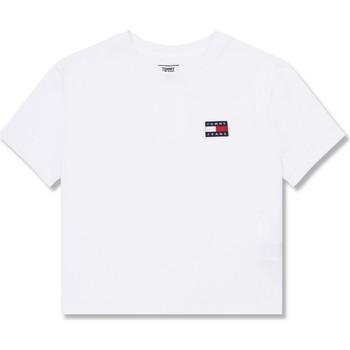 Textil Ženy Trička s krátkým rukávem Tommy Jeans DW0DW06813 Bílý