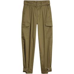 Textil Ženy Cargo trousers  Tommy Jeans DW0DW08321 Zelený