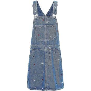 Tommy Jeans Overaly DW0DW08644 - Modrá
