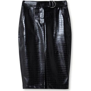 Textil Ženy Sukně Liu Jo WF0217 E0704 Černá