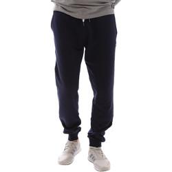 Textil Muži Teplákové kalhoty Key Up 2F37I 0001 Modrý