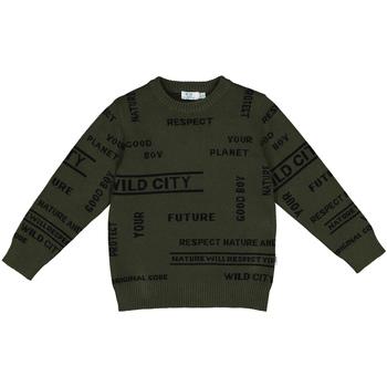 Textil Děti Mikiny Melby 40B2032 Zelený