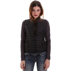 Textil Ženy Prošívané bundy Geox W8620B T2483 Černá