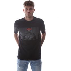 Textil Muži Trička s krátkým rukávem Sprayground 21SFW004 Černá