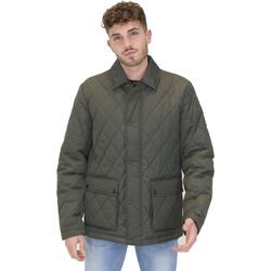 Textil Muži Parky Navigare NV65010 Zelený