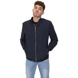 Textil Muži Bundy Les Copains 9UB081 Modrý