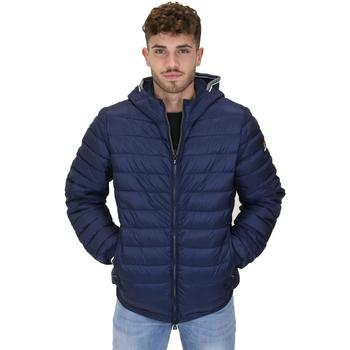 Textil Muži Prošívané bundy Navigare NV67073 Modrý
