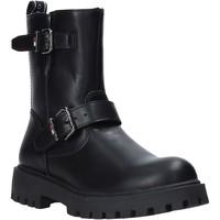 Boty Dívčí Kotníkové boty Tommy Hilfiger T3A5-30855-0193999 Černá