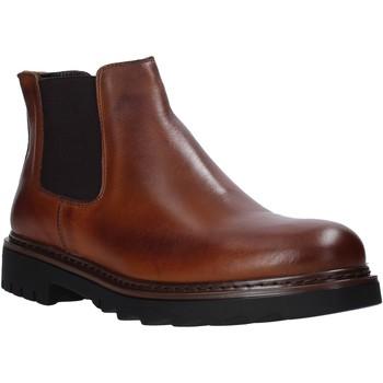 Boty Muži Kotníkové boty Exton 711 Hnědý