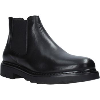Boty Muži Kotníkové boty Exton 711 Černá