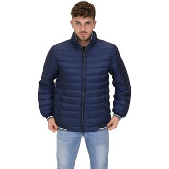 Textil Muži Prošívané bundy Navigare NV67074 Modrý