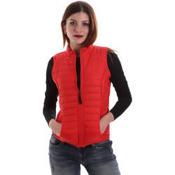 Textil Ženy Prošívané bundy Geox W8620B T2483 Červené
