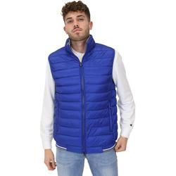 Textil Muži Prošívané bundy Navigare NV66017 Modrý