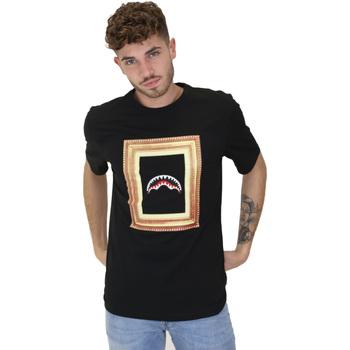 Textil Muži Trička s krátkým rukávem Sprayground 21SFW005 Černá