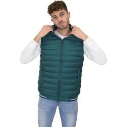 Textil Muži Prošívané bundy Navigare NV66017 Zelený